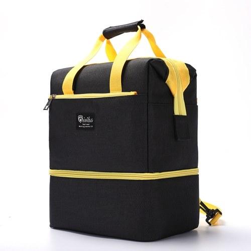 Bolsas de fraldas para mamães de grande capacidade Mochilas de viagem para mães com zíper Bolsas para mães grávidas Fraldas para bebês