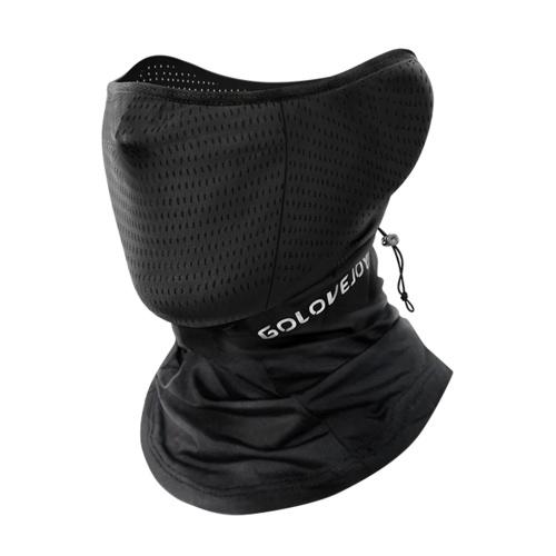Copertura per il viso rinfrescante unisex Finitura riflettente Bandana elastica traspirante per il collo con ghetta per il ciclismo, pesca, arrampicata