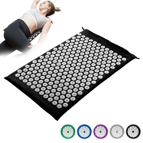 Akupressurmatte Rückenschmerzen Linderung Massage Kissen Yoga Spike Matte Akupunktur Pad Nadelmassage für den ganzen Körper