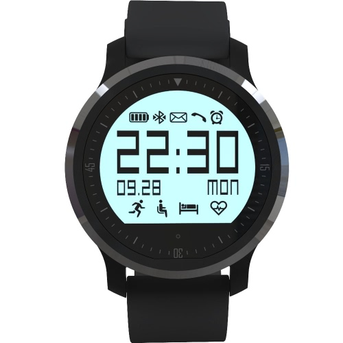 Smart Watch Sports Watch Pedometer Heart Rate Tracker Sleep Monitor BT 4.0 for Android 4.3 for IOS 8 Smartphone