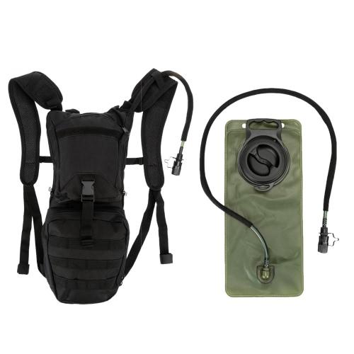 Al aire libre senderismo ciclismo correr hidratación mochila Pack Mochila + bolsa de vejiga de agua 2,5 L