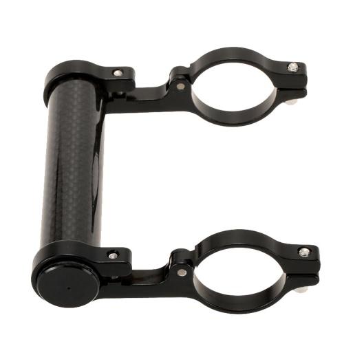 GUB 31,8 MM doppelte Lenker Erweiterung Mount Carbon Fiber Extender Halter für Fahrrad Licht Fahrrad Tacho