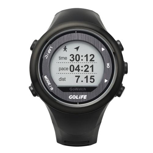 Intelligente Outdoor GPS-Sportuhr GOLiFE GoWatch 820i wiederaufladbare laufen, Radfahren, Schwimmen, Wandern, Triathlon 5ATM wasserdicht