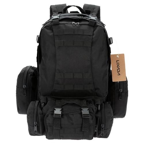 Lixada im freien Multifunktions militärischen taktischer Rucksack mit MOLLE Gurte Rucksack Sport Camping Reisen Wandern Tasche