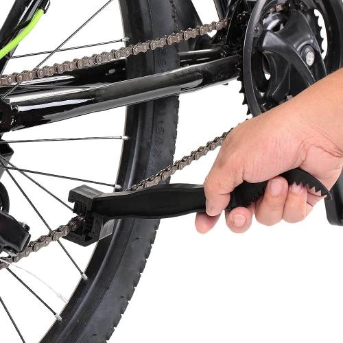 Цепь очиститель для мотоцикла цепь колесо маховик щётка велосипедов шатуны очистки инструмента Кисть