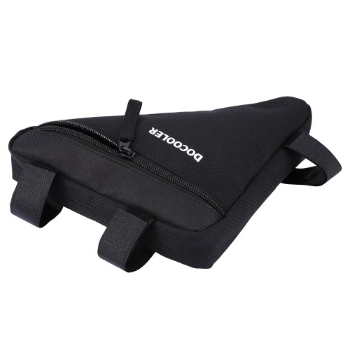 Docooler Triangle Cycling Bike Bicycle Front Saddle Tube Frame Pouch Bag Holder Outdoor Bag Image