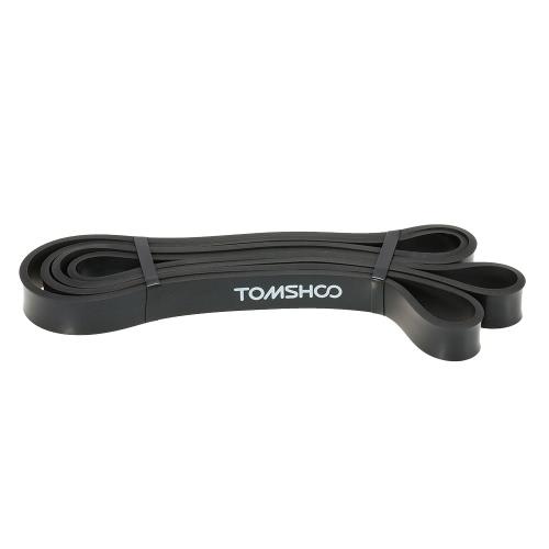 TOMSHOO 208 centimetri di allenamento Loop Banda Pull Up Assist fascia elastica della fascia di resistenza Powerlifting Bodybulding esercitazione di yoga fitness Assist Mobilità banda per uomini e donne
