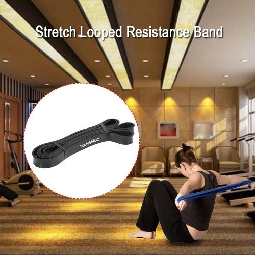 TOMSHOO 208cm Workout Schleifenband Assist Pull Up Band Stretch Resistance Band KDK Bodybulding Yoga-Übung Fitness Assist Mobility Band für Männer und Frauen