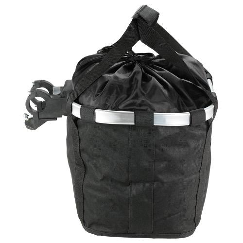Armação de Bicicleta Bicicleta frontal destacável Ciclo de lona Basket Carrier Bag Pet Carrier liga de alumínio