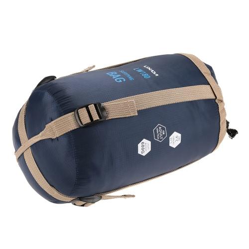 42238f0daf9a Lixada 190   75cm Outdoor Envelope Sleeping Bag Camping Travel Hiking  Multifunction Ultra-light 680g