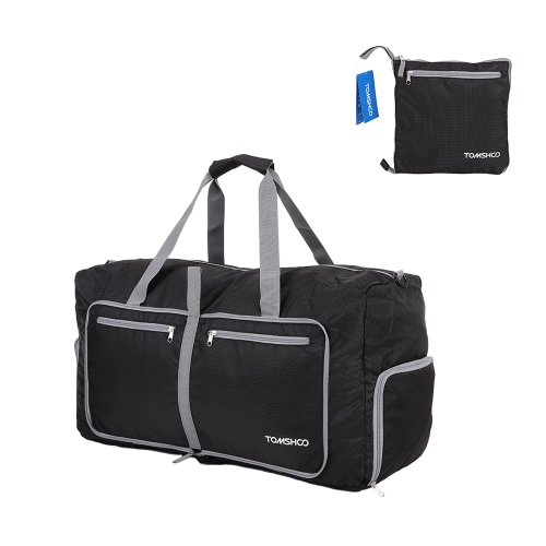TOMSHOO 80L Foldable Packable Duffle Bag Large Travel Luggage
