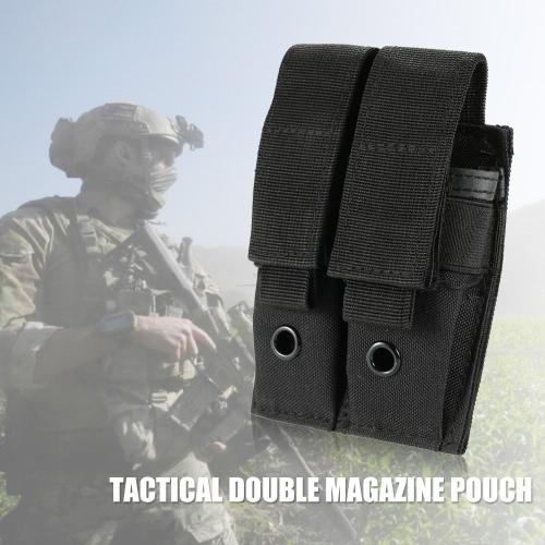 Al aire libre pistola táctica del rifle Revista doble bolsa gadget bolsa 600D Oxford tela engranaje Compatible