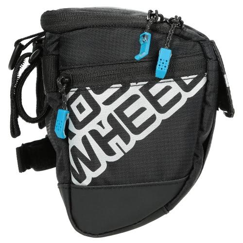 Multifunktionale Radfahren Fahrrad Lenkertasche Korbtasche vorne Rohr Tasche Outdoor Sports-Schulter-Satz