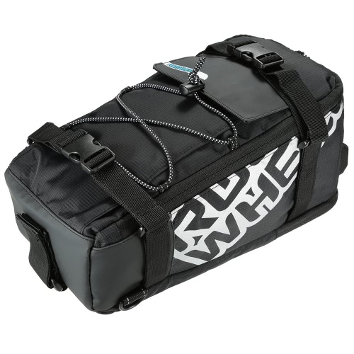 Seduta multifunzionale della bici della bicicletta posteriore borsa Tronco sacchetto esterno Sport Pouch Panniers Rack spalla