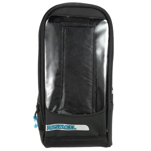 Multifunctional Bicycle Tube Frame Cycling Pannier Bike Bag Touchscreen Phone Holder Bag