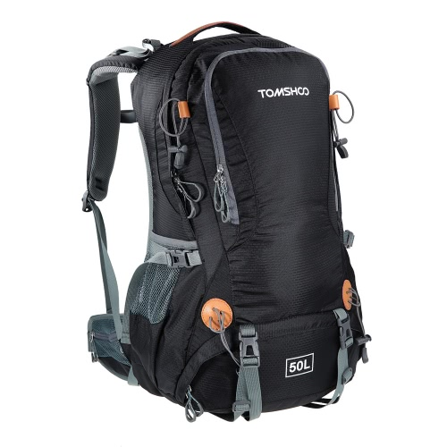TOMSHOO 50L Versatile Outdoor Hiking Camping Climbing Travel Pack Bag