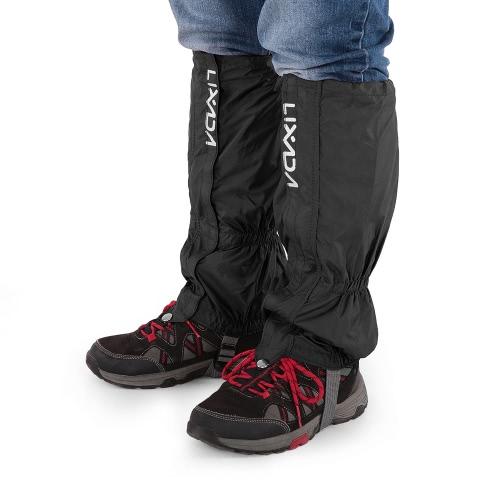 Image of Lixada Ein Paar Gamaschen Außen Unisex Reißverschluss Closure tragen und Wasserdicht Stoff Gamaschen Gamaschen Abdeckung für Rad fahren Snowboard Wandern