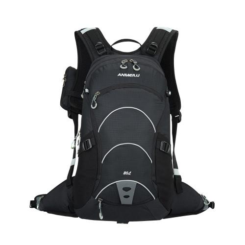 20L Nylon Bergsteigerbeutel Reisen Rucksack Wanderung Camp Climb Bagpack Laptop Back Bag