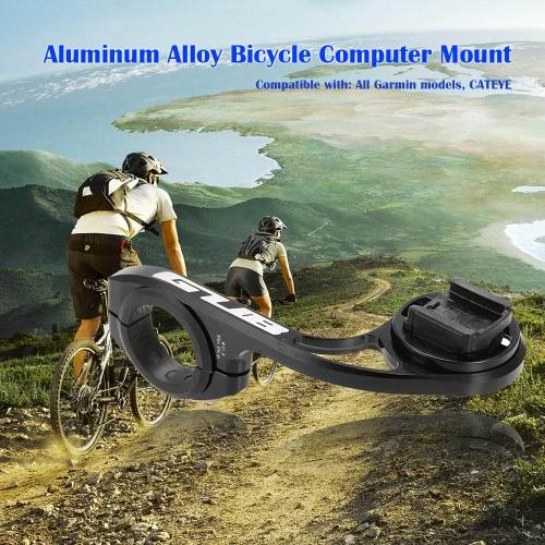 GUB-Aluminiumlegierung-Fahrrad-Computer Halterung Halter Unterstützung Lenker Stoppuhr Odometer Halterung für Garmin für CATEYE