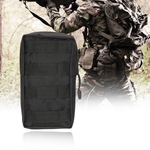 Táctica militar al aire libre de la bolsa Sistemas para el Gadget Carrier bolso de la bolsa de agua soporte para teléfono celular resistente Bolsa de accesorios