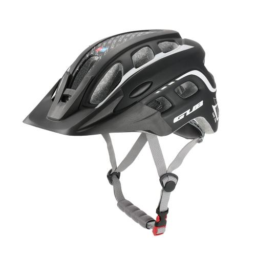 GUB ultraligero Profesional Bicicleta de la bicicleta casco patinador del patinaje sobre ruedas Scooter monopatín de protección en el molde del casco integrado con visera 19 Vents