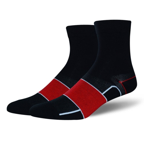 1 par de medias de compresión Espesados respirable calcetín del tobillo Deportes Ciclismo calcetín de algodón