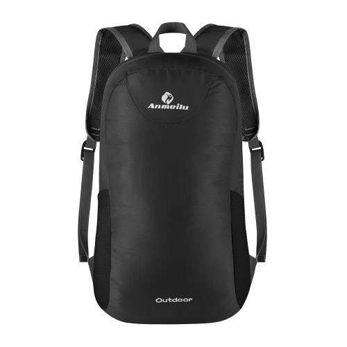 15L robusto leggero pieghevole Splash pioggia Resistente all'aperto zaino in bicicletta zaino in spalla Viaggiare Escursionismo Bag Daypack Sacca