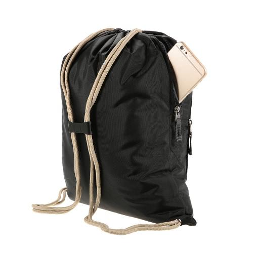 12L robusto leggero pieghevole Water Repellent zaino di riciclaggio esterno zaino in spalla viaggio Escursionismo Bag Daypack Sacca coulisse Chiusura senza telaio