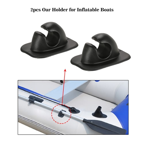2pcs Oar Rowing Pole Paddle Clips Holder Mount Patch for Inflatable Boats Dinghy Kayaks