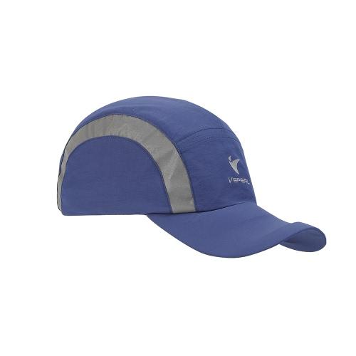 VEPEAL de secagem rápida Bone reflexiva leve Verão UV Protection Sun Hat Outdoor Sports Cap