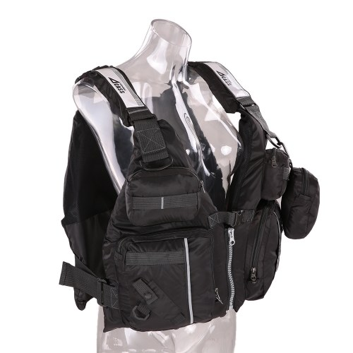 Adult Detachable Buoyancy Aid Sailing Kayak Canoeing Fishing Life Jacket Vest