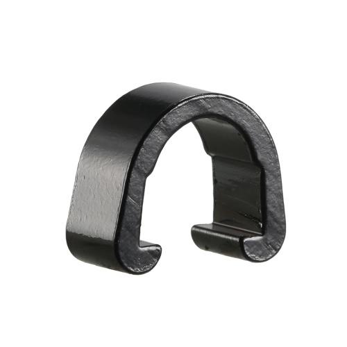 Telaio Lixada 10pcs riutilizzabile della bicicletta del freno del cavo Housing Wire Line Gear Guida C-type clip con fibbia C-clip Cravatte in lega di alluminio