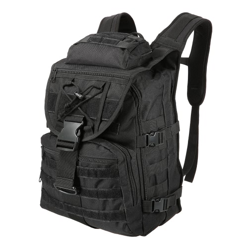 Lixada 40L Рюкзак для наружного применения Daypack Pack Большая емкость для воды с водонепроницаемой сумкой для охоты на кемпинг Trekking