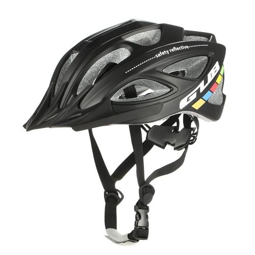 Casco da bicicletta GUB Casco da bicicletta ultraleggero interamente stampato 18 bocchette di flusso MTB Mountain Road Casco da bicicletta Regolabile 58-62cm