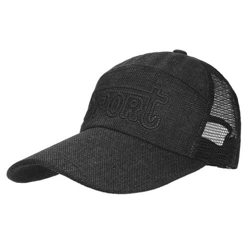 Primavera hombres y mujeres Gorra de béisbol Quick Seco verano visera sombrero respirable Gorras de béisbol ocasionales