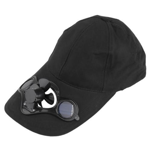 Летняя спортивная открытая шляпа с солнечной солнечной энергией Холодный вентилятор для езды на велосипеде