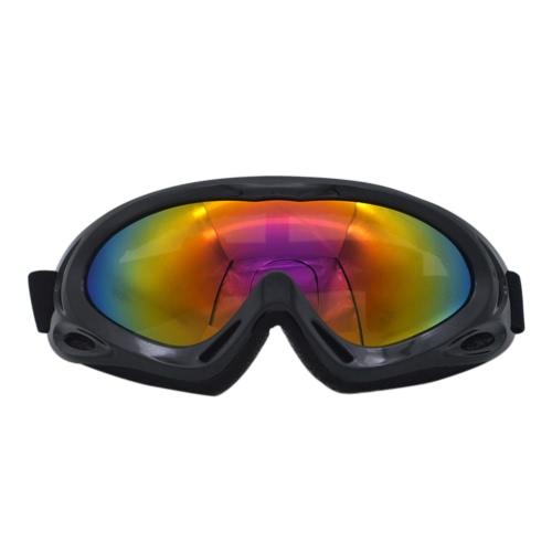 Ветрозащитное зеркало X400 Лыжные очки Monolayer Песостойкие противоударные наружные велосипедные мотоциклетные очки
