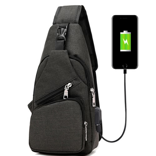 Outdoor Freizeit Reisen Radfahren Multifunktionale kleine Tasche Tragen USB