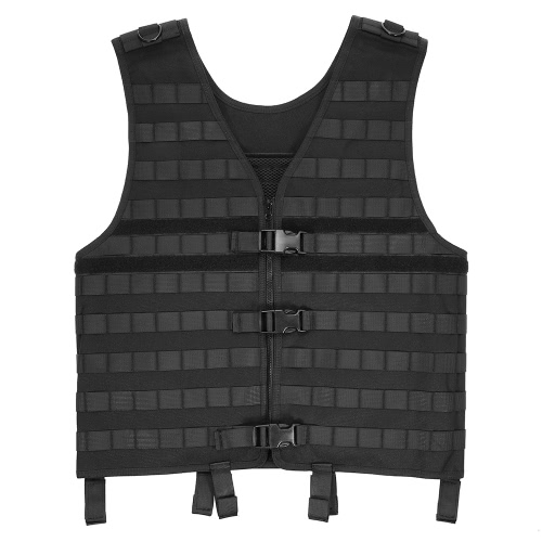 Outdoor Men's Molle Modular Vest Hunting Gear Load Carrier Vest with Hydration Pocket