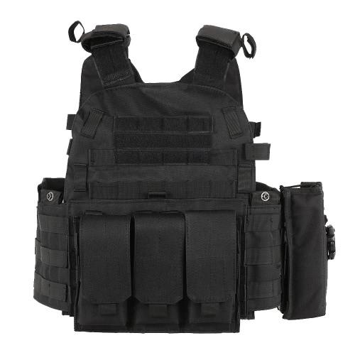 Открытый мужской модульный жилет охоты Gear Load Carrier жилет с гидратом карман