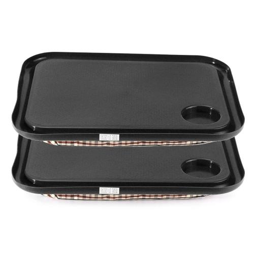 2PCS Portable Handy Lap Tray Tavolo per laptop Tavolo per apprendimento all'aperto Lazy Tables Nuovo supporto per laptop stand per Notebook