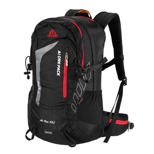 38L Outdoor Sport Rucksack Reisen Wandern Camping Trekking Rucksack Interne Rahmen Tasche mit Regenhülle