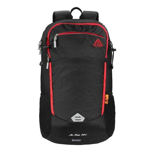 30L Outdoor Sport Zaino Viaggiare Escursioni Camping Trekking Zaino Borsa con copertura di pioggia