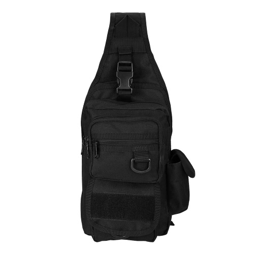 f5cf126265 Lixada Outdoor Gear Sling Pack Backpack Single Shoulder Bag Chest Pack Bag  Sport Molle Daypack with Holster for Camping Hiking Hunting - US 18.61  Sales ...