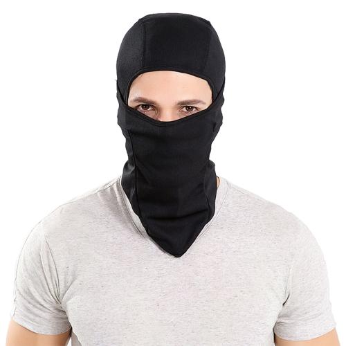 Мотоцикл на открытом воздухе Спортивная капот для верховой езды Полная маска для лица для тепловой защиты Ветрозащитный дышащий Легкий комфортный шейный теплый капюшон