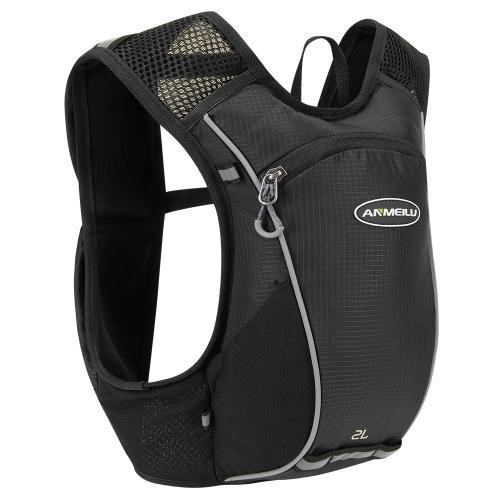 2 литра гидратации пакет Рюкзак Открытый Спорт Легкий марафон гонки Велоспорт Бегущий жилет Daypack Bag