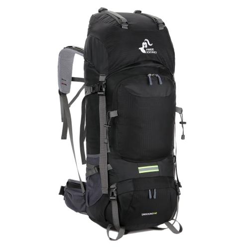 Mochila de senderismo empacadora multi-funcional Knight 60L gratis