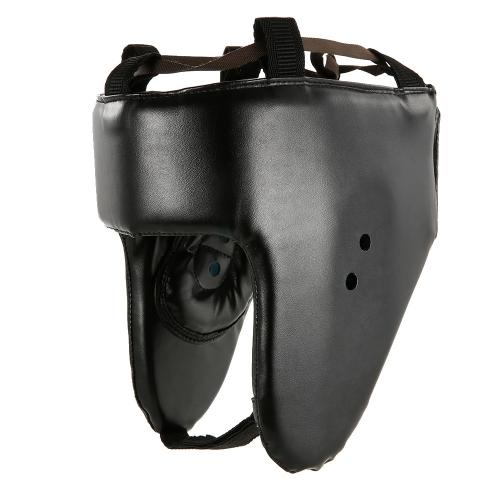 Боксерский шлем Голова гвардии Наголовник Защита от укупоривания щитка Муай Тхэквондо Спарринг-шлем Головной убор Бокс-головной протектор