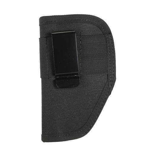 Bolso portátil ligero del sostenedor del engranaje de la caza derecho e izquierdo Universal 6.1 pulgadas oculto lleve el bolso de la pistolera con el clip