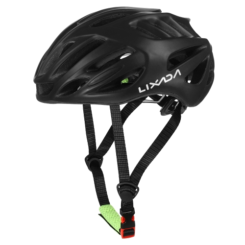 Lixada 32 Vents Ultralight Casco da ciclismo in EPS completamente modellato in EPS con rivestimento interno Casco regolabile da ciclismo in Mountain Bike per bicicletta